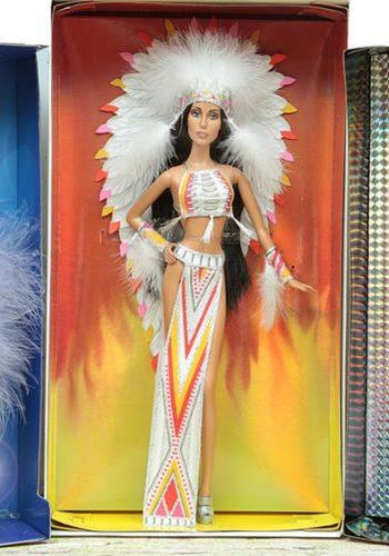 The fabulous Cher Barbies by Bob Mackie