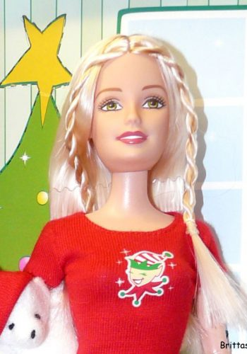 2004 Christmas Morning Barbie