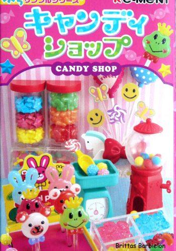 Re-Ment 2009, Candy Shop
