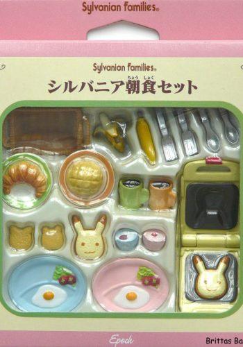 Sylvanian Frühstücks-Set