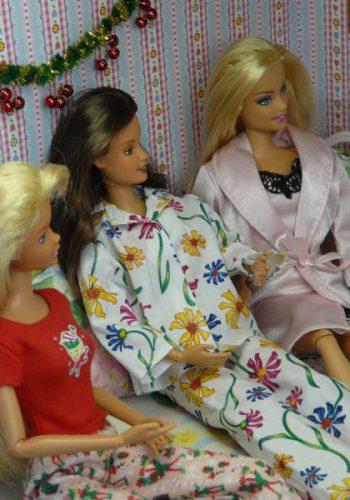 Heiligabend im Pyjama