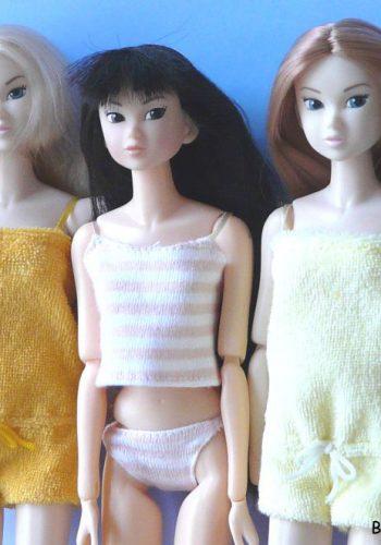 Wake Up! Momoko Dolls