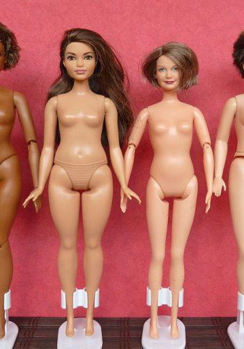 Barbies mit Curvy Body