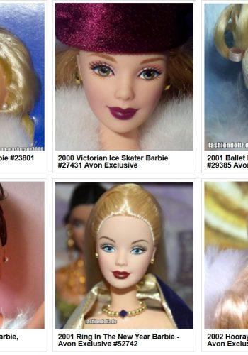 Barbie Avon Exclusives