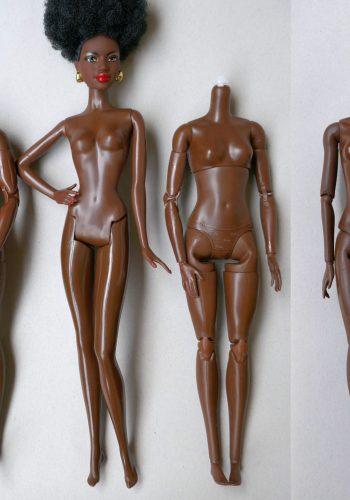 Bodyswitch 40th Black Barbie