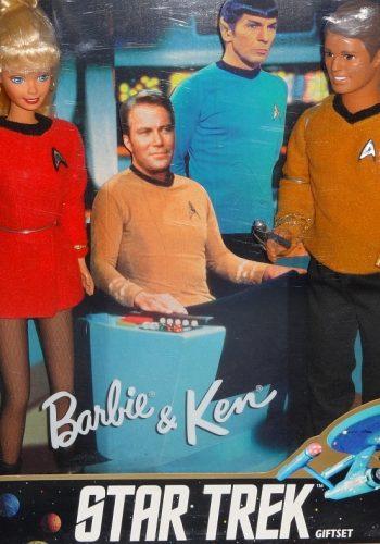 1996-2016 Barbie goes Star Trek