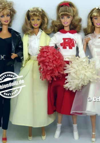 Grease - Barbie as Sandy, Rizzo, Cha Cha & Frenchie